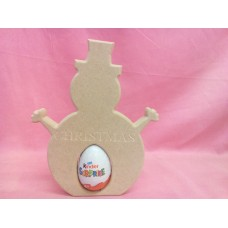 18mm MDF Snowman Egg Holder